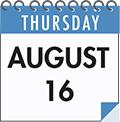 Thursday August 16: SMCC On the Spot Acceptance Day
