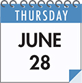 Thursday June 28: SMCC On the Spot Acceptance Day