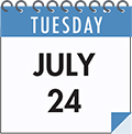 Tuesday July 24: SMCC On the Spot Acceptance Day